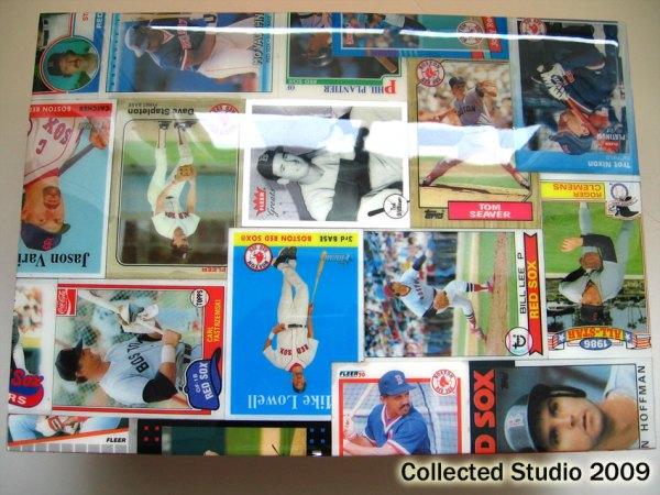 Red Sox Baseball Card Storage Box